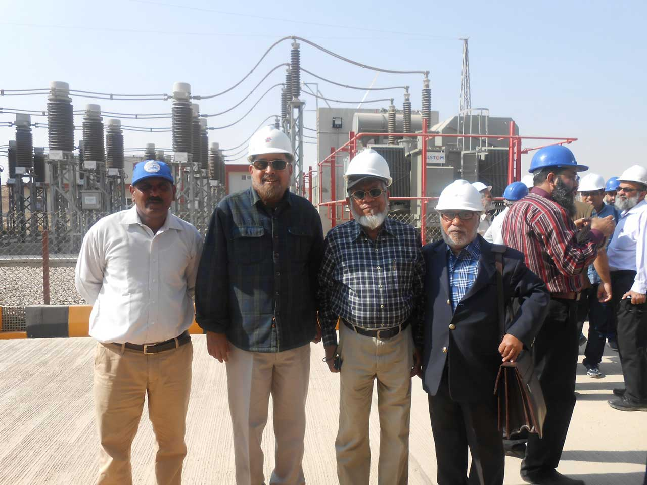 YEL Staff, Engr. Qaiser Jawed Ali Khan, Engr. Iqbal Ahmed Khan, Engr. Gulzar Memon