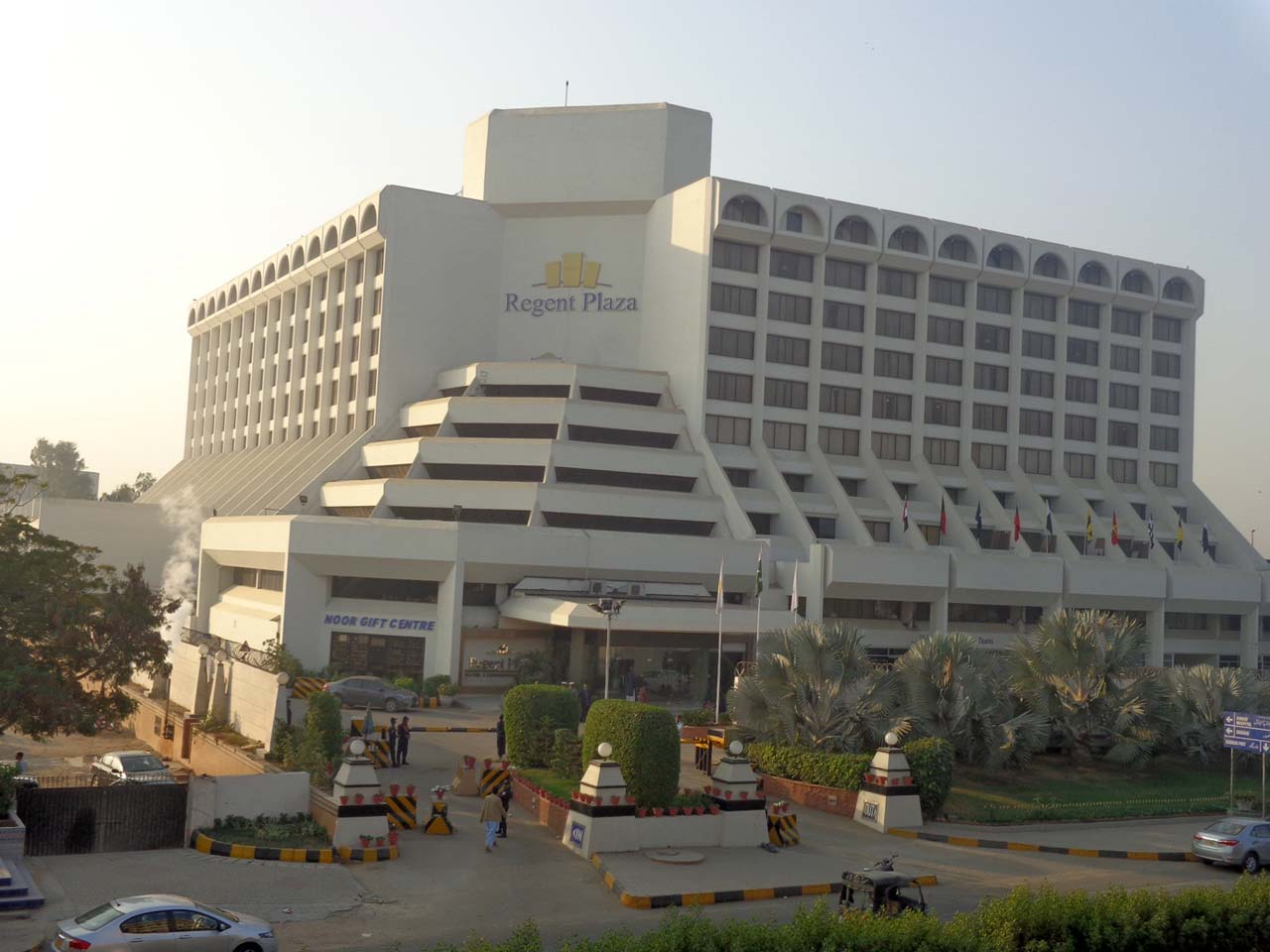 Regent Plaza Hotel before the fire