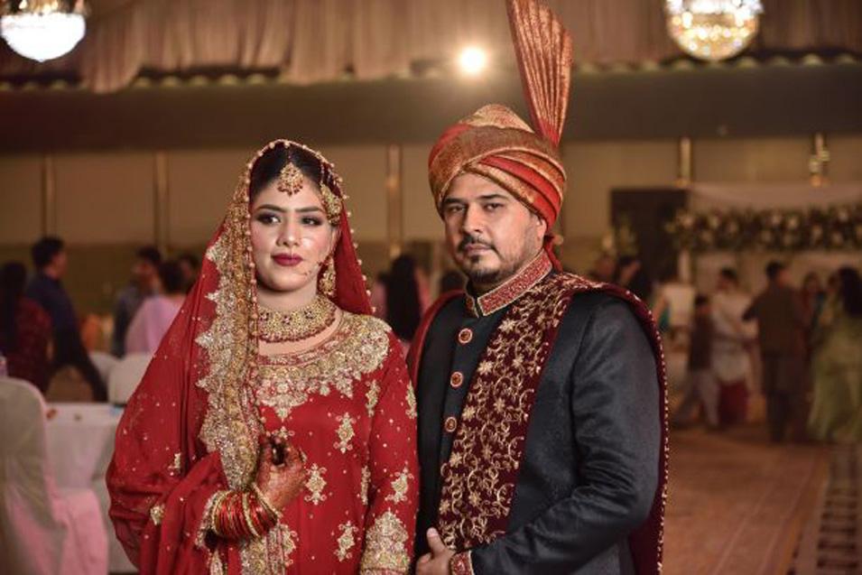 A beautiful Happy Couple - Masha Allah