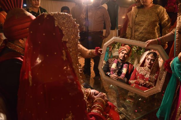 Arsi Musaf ceremony is in process on the wedding day