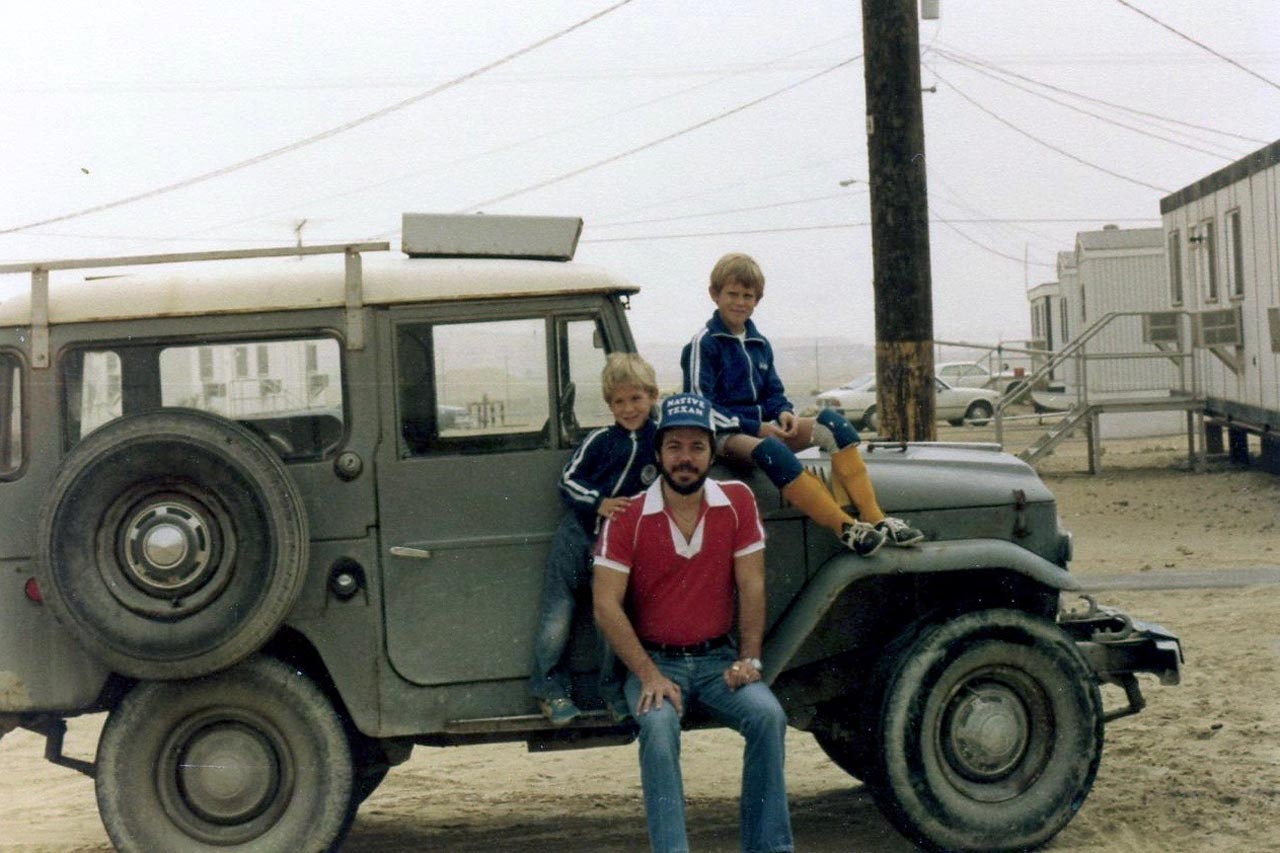 On August 2nd, 1980, the Stuckeys began their 24 year Saudi Adventure. These photos were taken in North Camp a few months later.