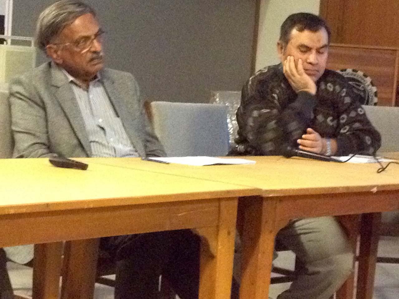 Engr. Badar Khan and Prof. Dr. Noman Ahmad
