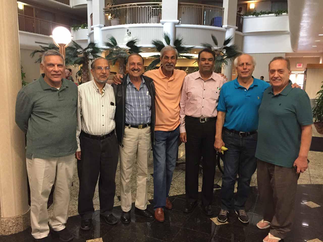 Majid Adam, Hamid Ul Haque, Umar Vawda, Pervez Randhawa, Jawaid Saeedi, Shahnawaz Ahmad, Asif Majeed