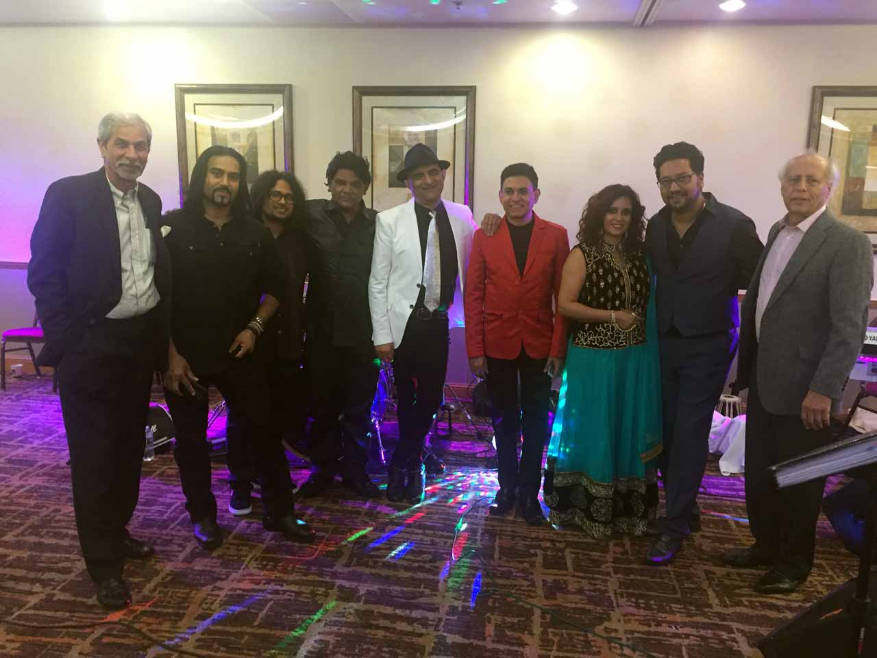 The Organizing Team with the Musicians