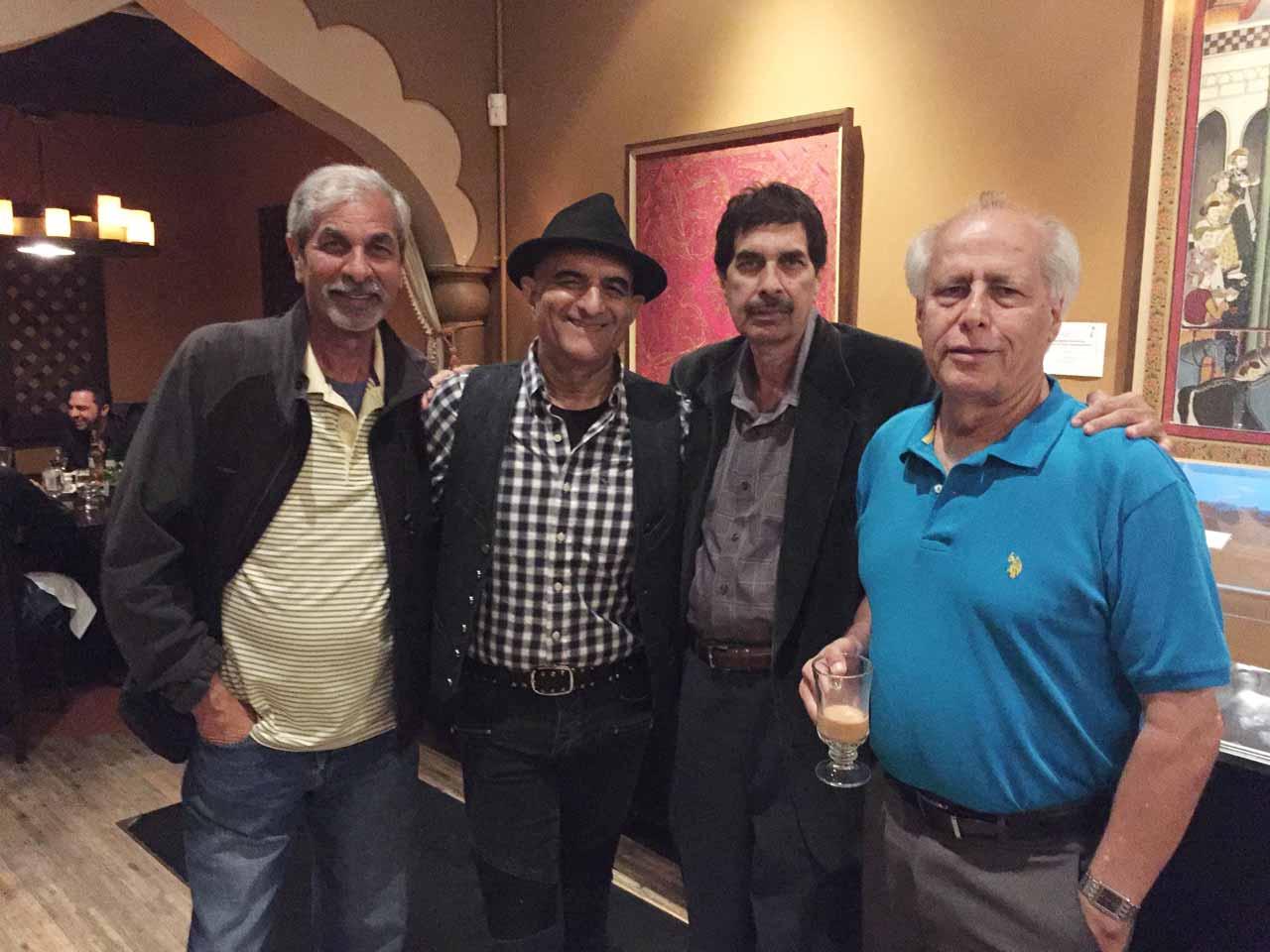 Pervez Randhawa, Ashraf Habibullah, Farid Randhawa, Shahnawaz Ahmad