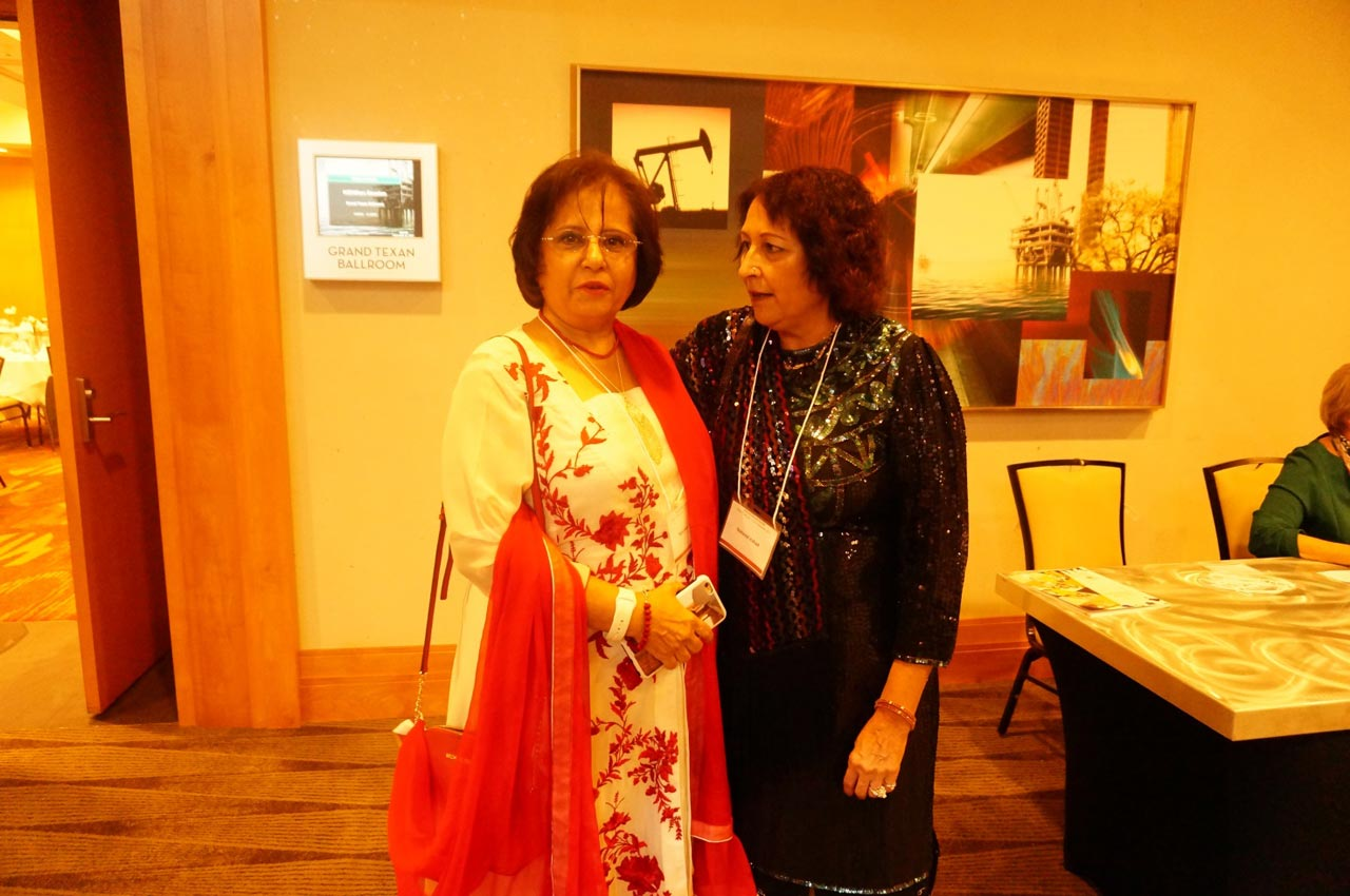 Mrs. Nasreen Jawaid and Mrs. Naheed Irshad