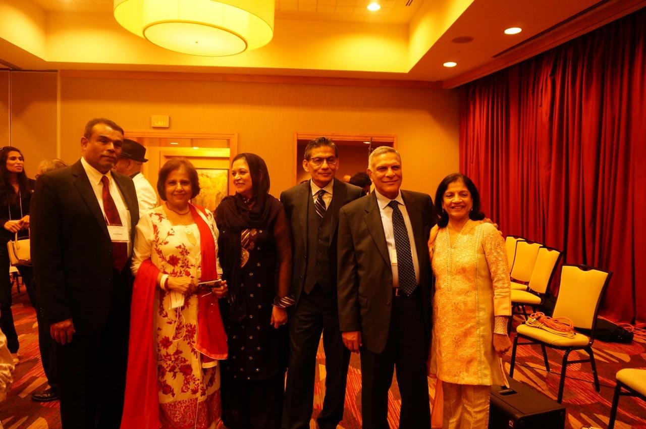 Engr. Jawaid Saeedi, Mrs. Nasreen Jawaid, Mrs. Shaheen Shamshad, Engr. Shamshad, Engr. Abdul Majeed Adam, Mrs. Nigar A. Majeed.
