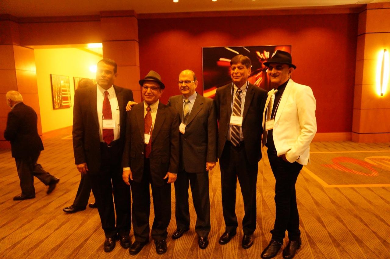 Engr. Jawaid Saeedi, Engr. Mohammed Irshad, Engr. Kersi P. Edulji, Engr. Mahmood Manzoor, Engr. Ashraf Habibullah