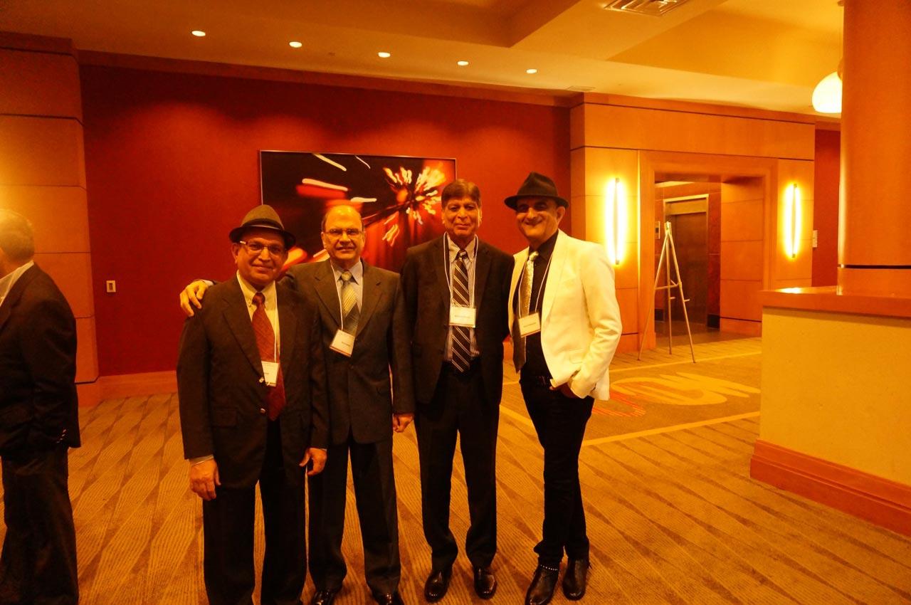Engr.  Mohammed Irshad, Engr. Kersi P. Edulji, Engr. Mahmood Manzoor, Engr. Ashraf Habibullah