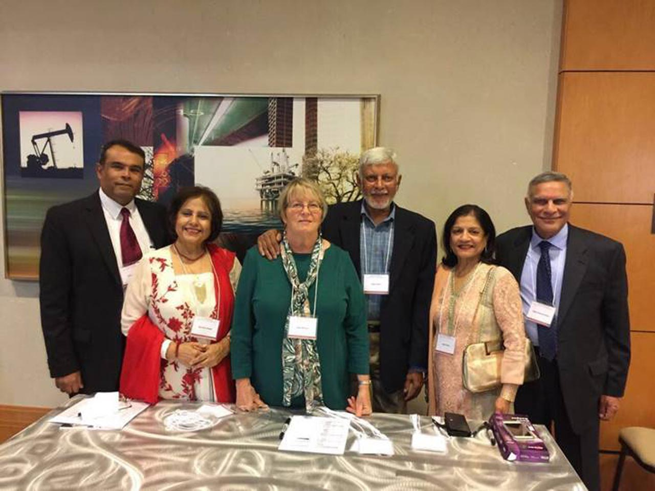 HOST COMMEITTEE Engr. Jawaid Saeedi, Nasreen Saeedi, Kate Wilson, Engr. Moin Khan, Nigar Adam, Engr. Abdul Majid Adam