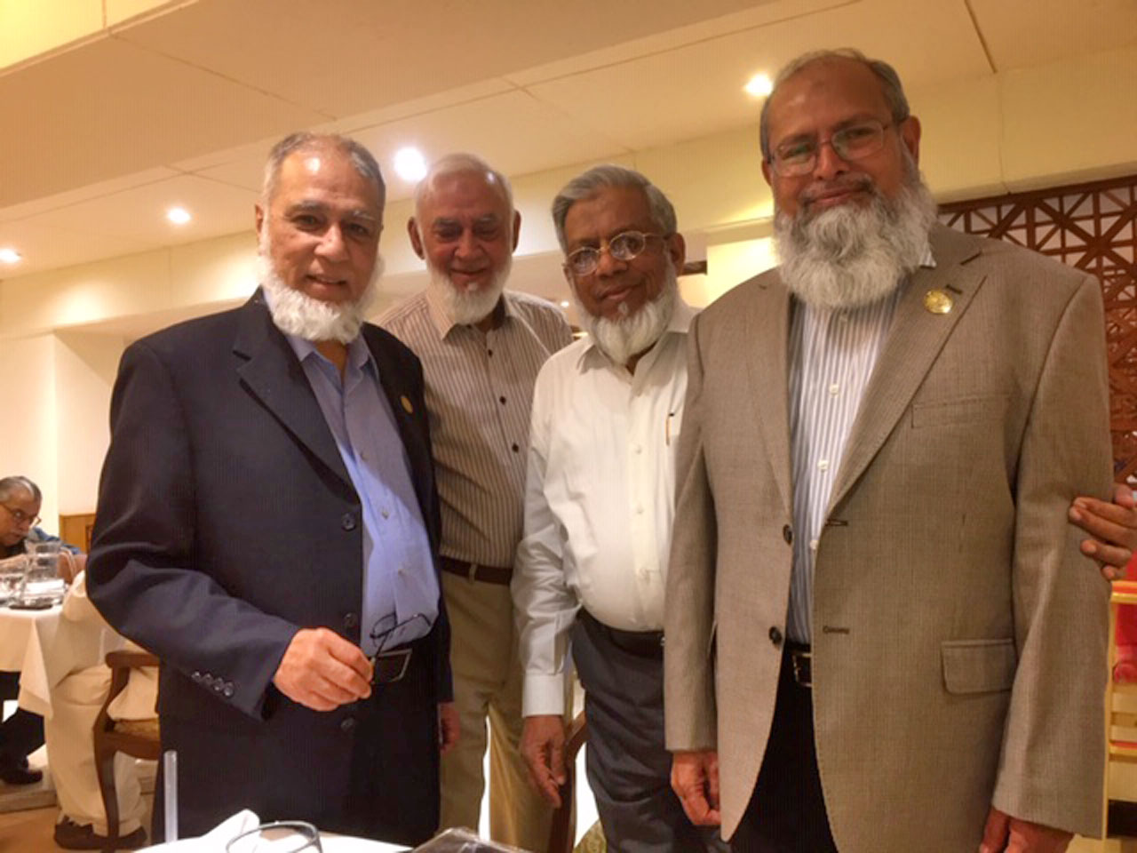 Engr. Khalid Iqbal, Engr. Aqleem Aleem, Engr. Iqbal Ahmed Khan, Engr. Muhammad Hamid