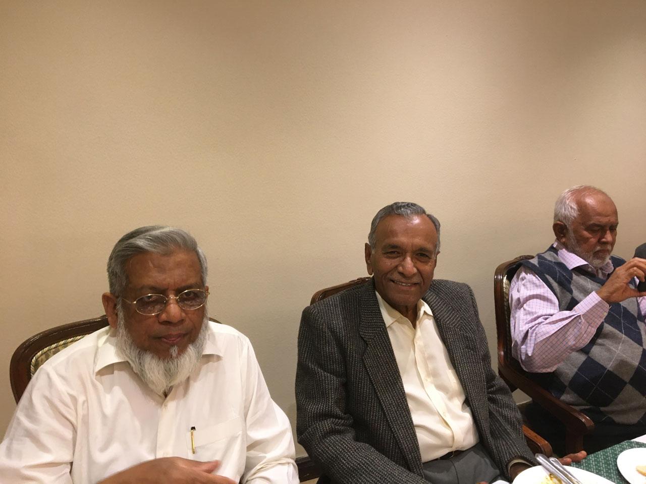 Engr. Iqbal Ahmed Khan, Engr. Mohammad Afzal, Engr. Rahmatullah Ganaai