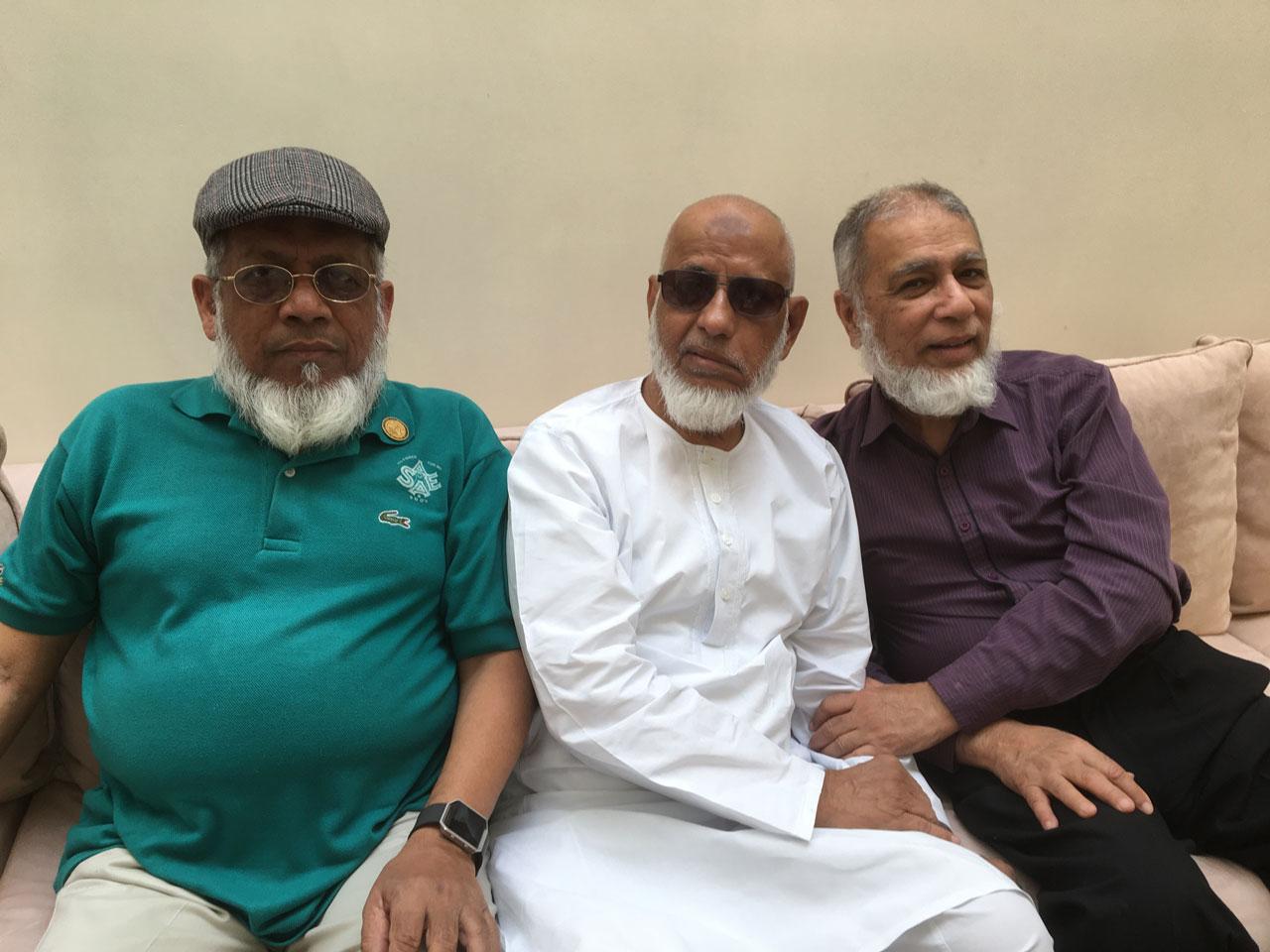 Engr. Iqbal Ahmed Khan, Engr. Iqbal Hameed Kanpuri, Engr. Khalid Iqbal
