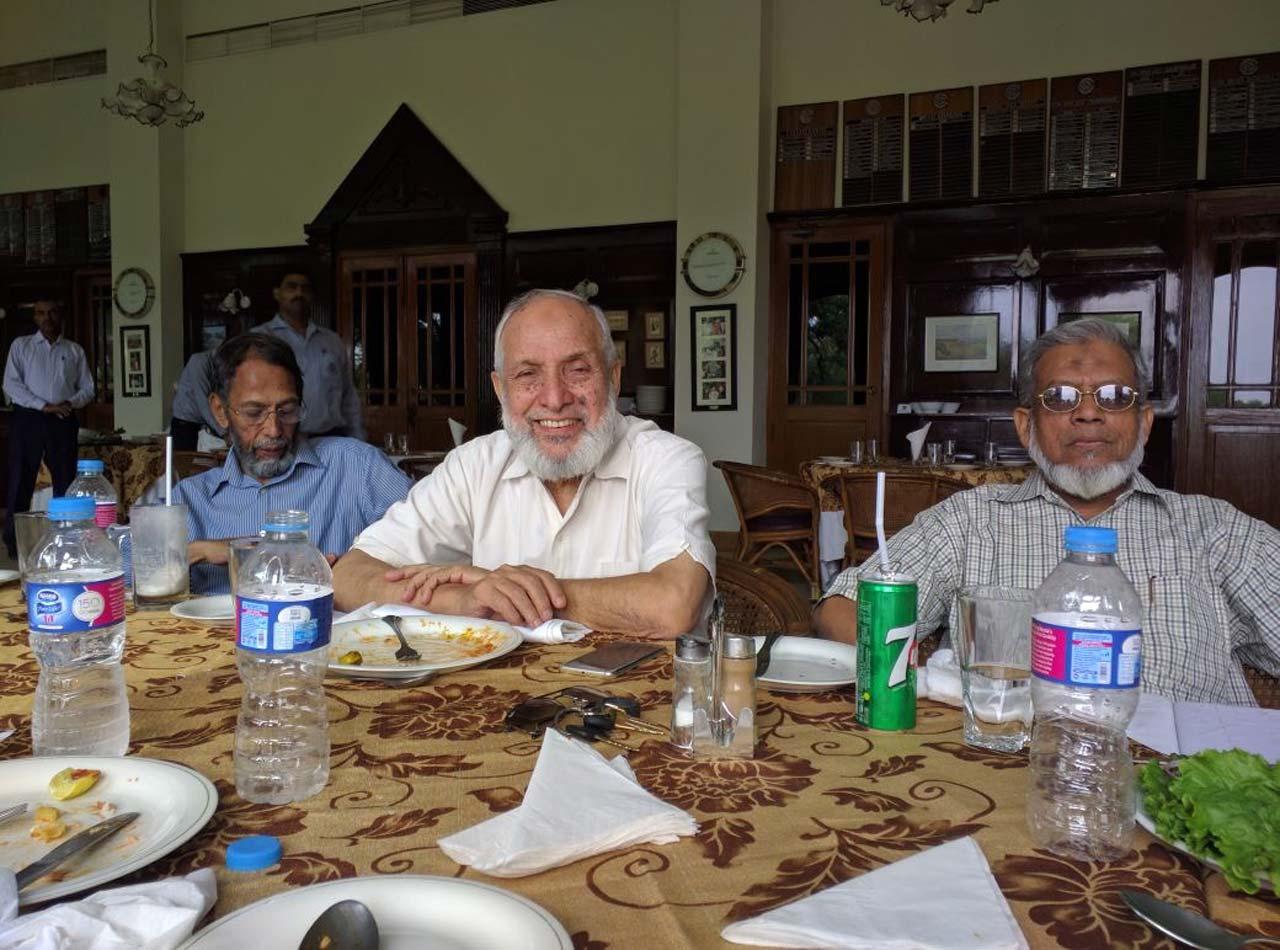 Engr. Tariq Said Bukhari, Engr. Col ® Syed Zafaruddin Ahmad-The Host, Engr. Iqbal Ahmed Khan