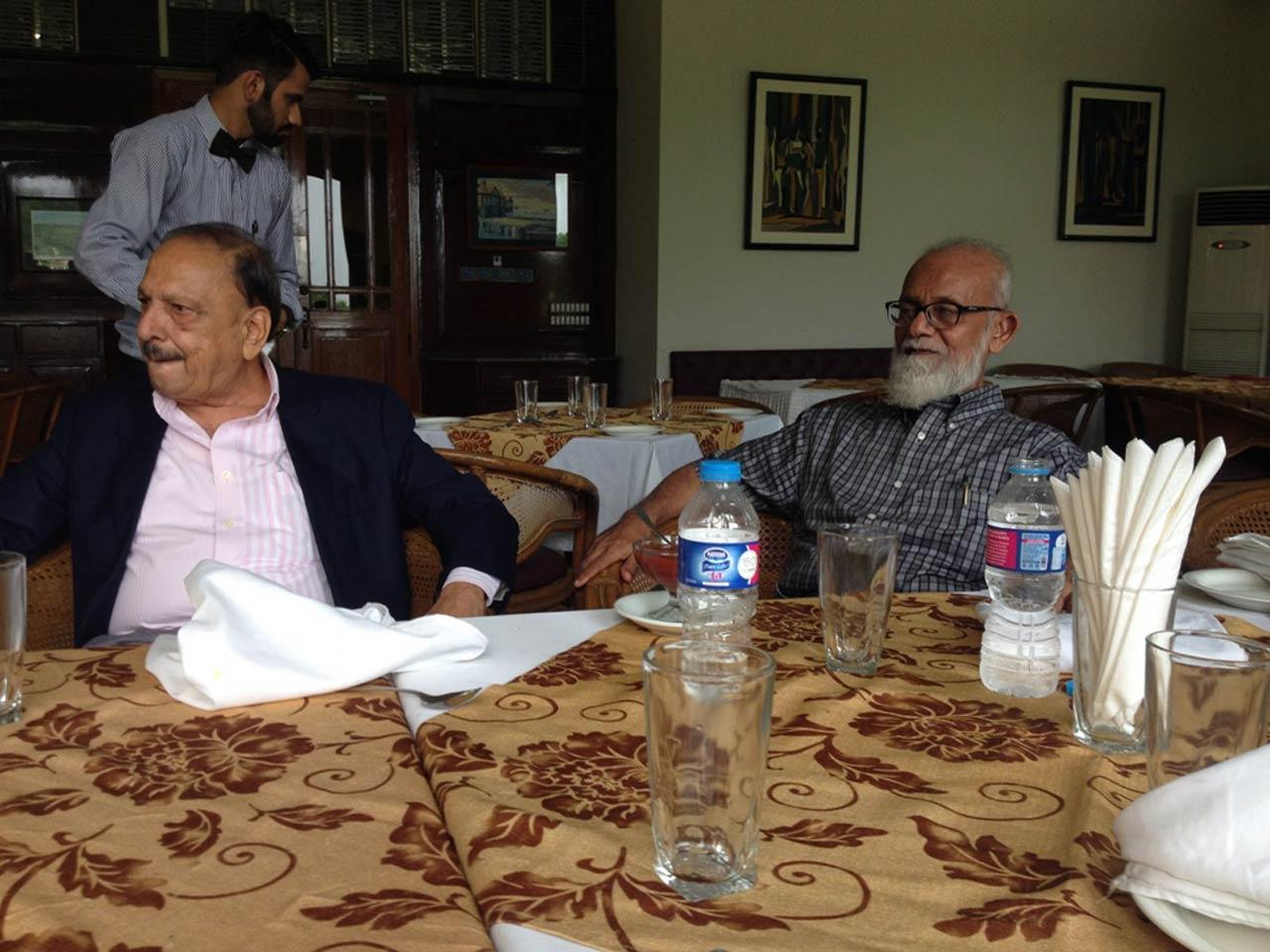 Engr. Omar Vowda and Engr. Shareef Ur Rehman Malik