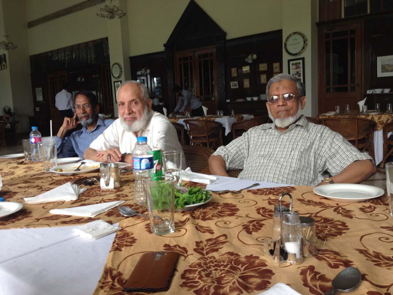 Engr. Tariq Said Bukhari, Engr. Col ® Syed Zafaruddin Ahmad, Engr. Iqbal Ahmed Khan