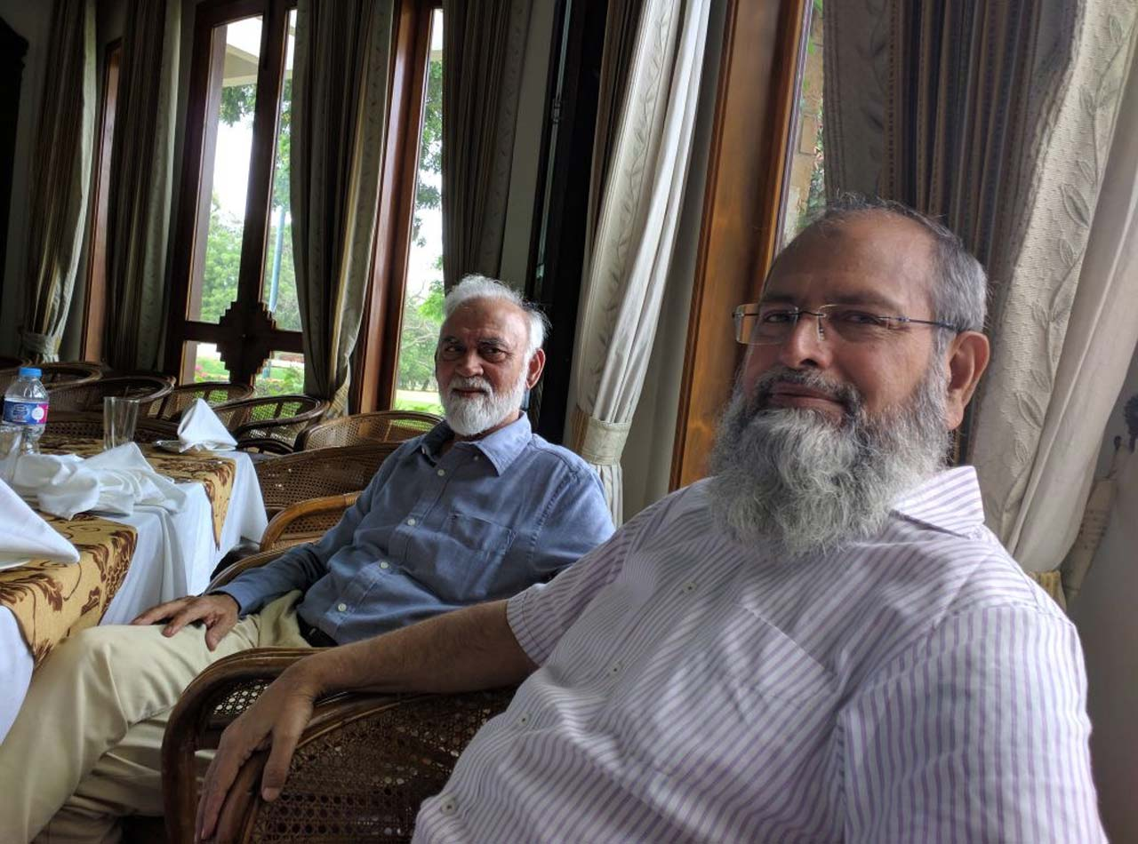 Engr. Aqleem Aleem and Engr. Muhammad Hamid