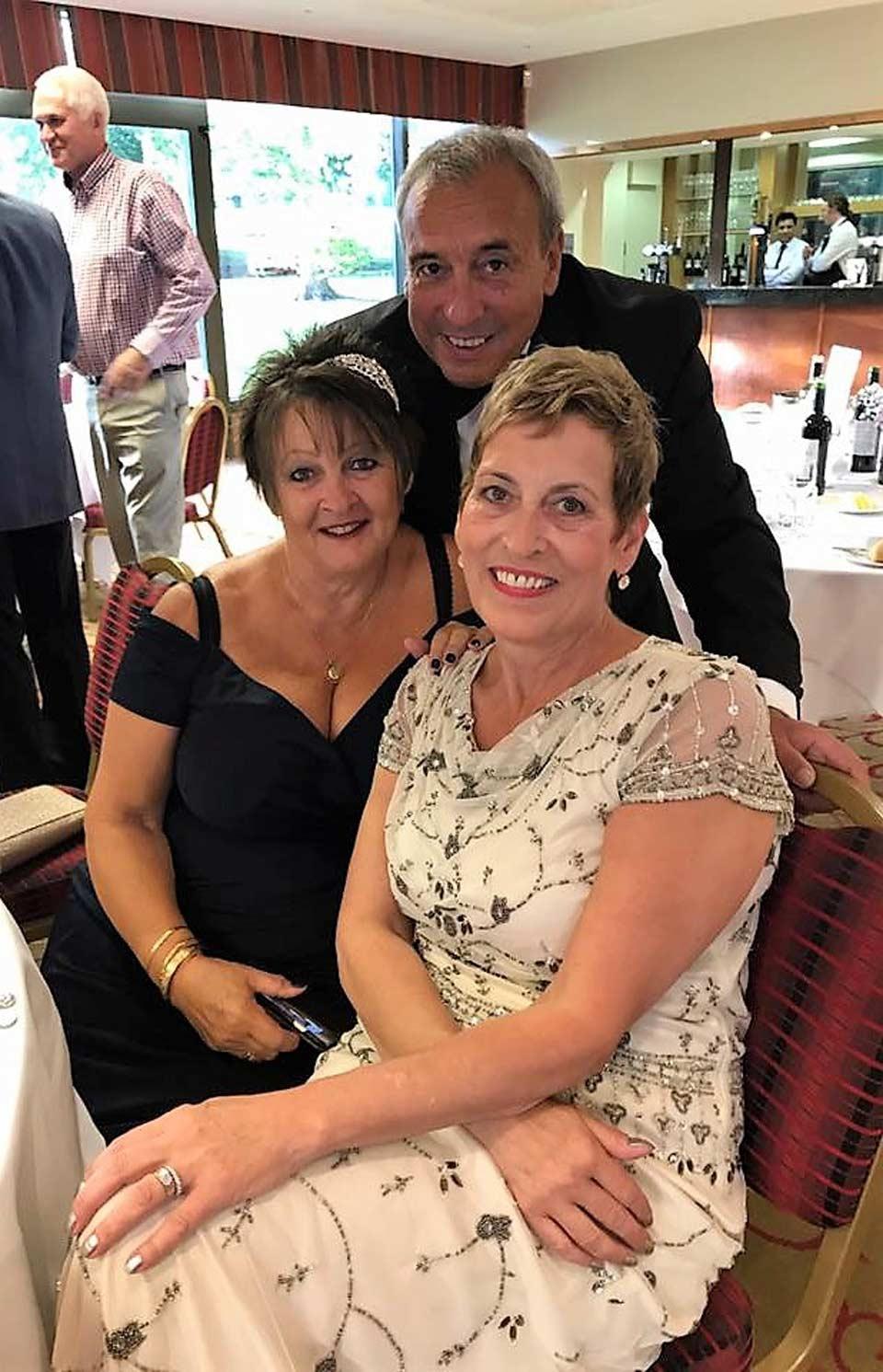 Gail, John & Janet Radcliffe