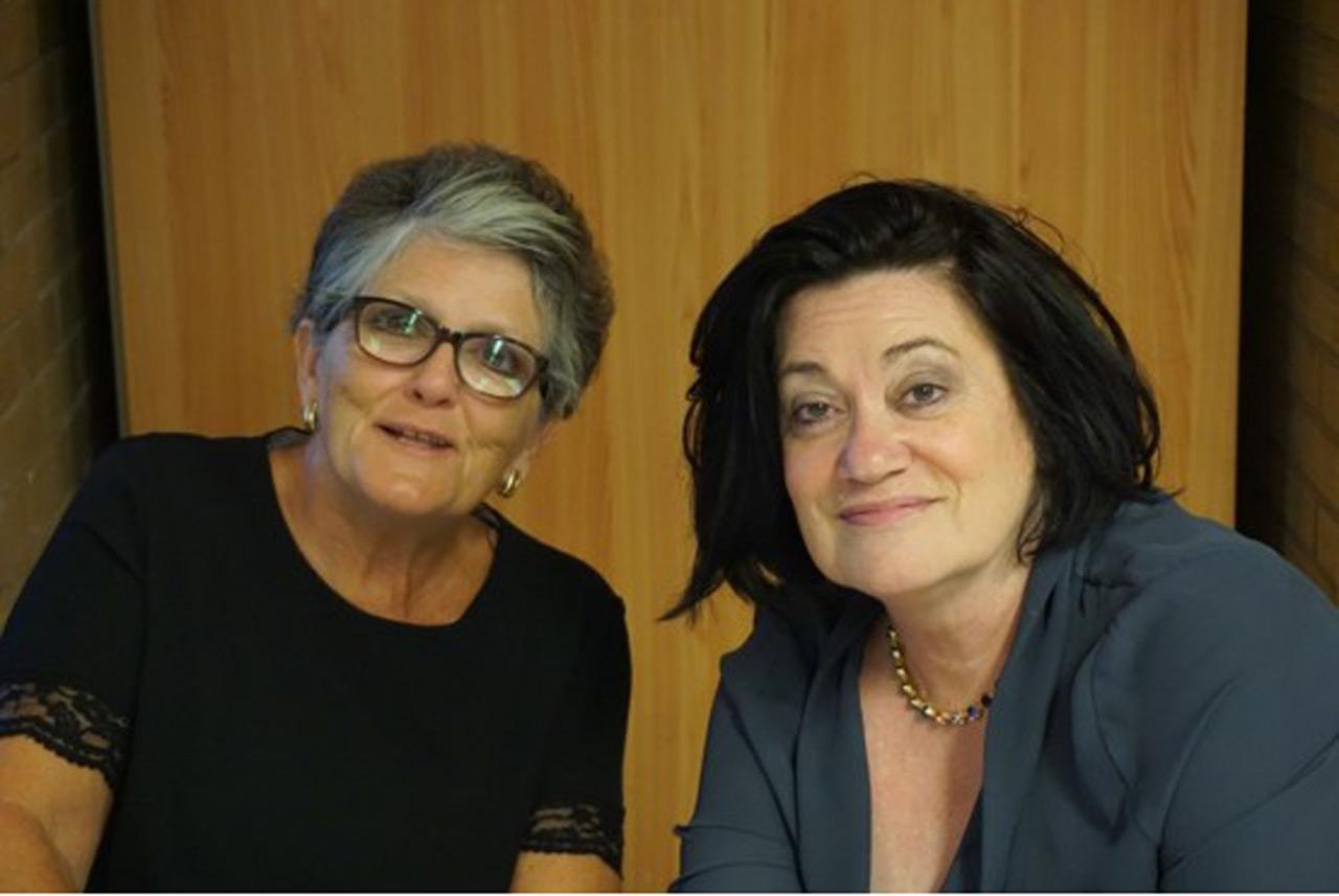 Lindsay Poynton & Carole Johnson