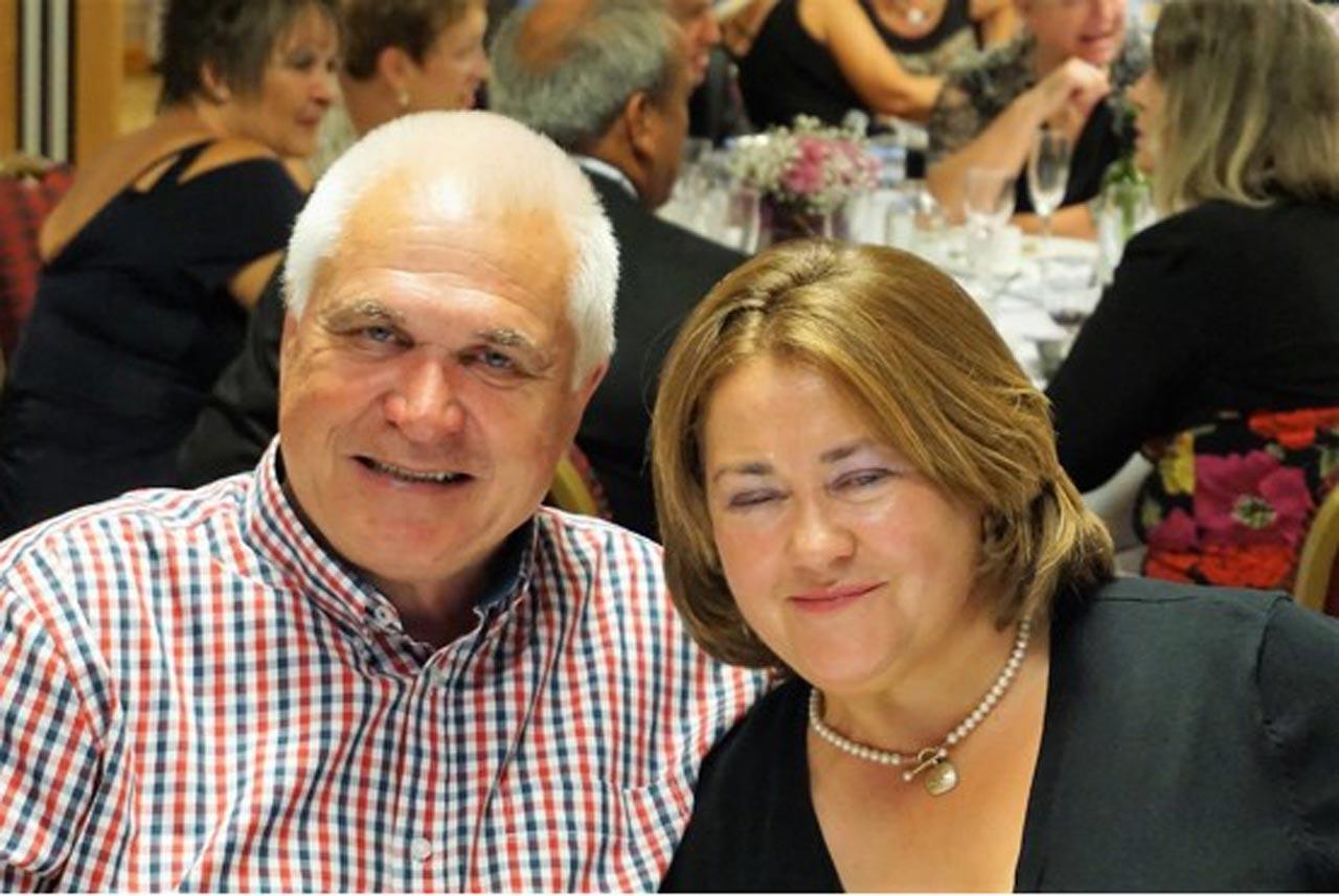 Pete & Martine Rossiter