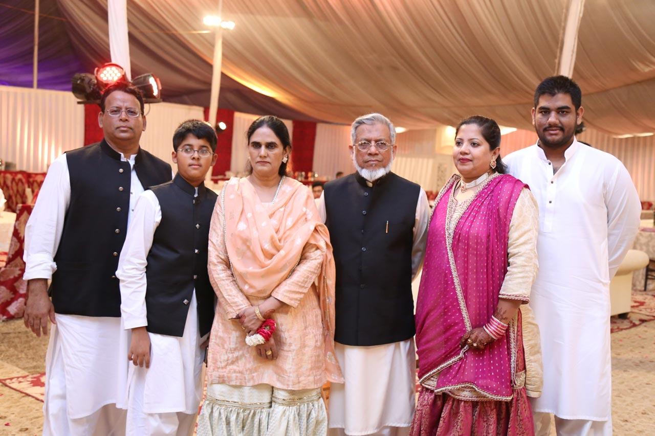 Dr. Ata Ur Rehman, Habib Ur Rehman, Rudaba Irshad, Engr. Iqbal Ahmed Khan, Dr. Kiran A. Rehman, Engr. Taha A. Khan