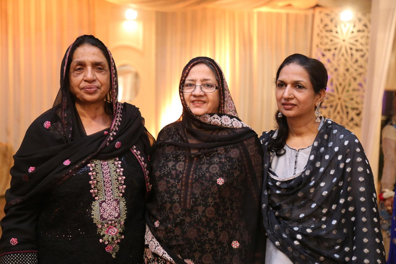 The three sisters - Rehana Obaid from Meerut, Zohra Iqbal and Shabana A. Hameed