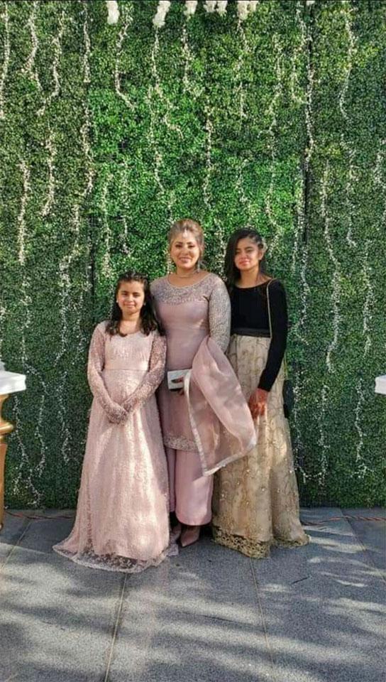 Aleena Aslan, Nadia Aslan and Sonia Aslan