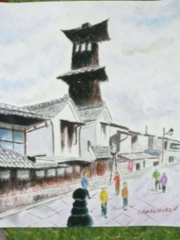 The bell of time in Kawagoe, Saitama prefecture.
