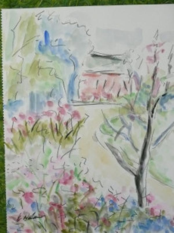The rose garden in Yokohama.