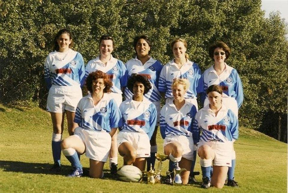 Desert Foxes Rugby Team in Dhahran circa 2000