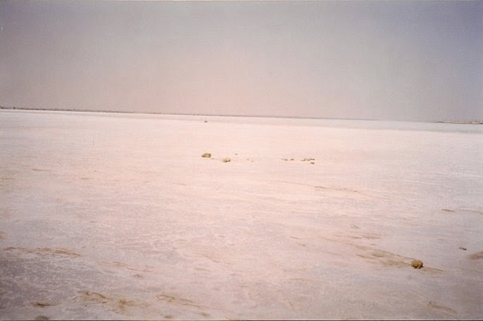 The salt flats in the RT/Jubail area, circa 1999