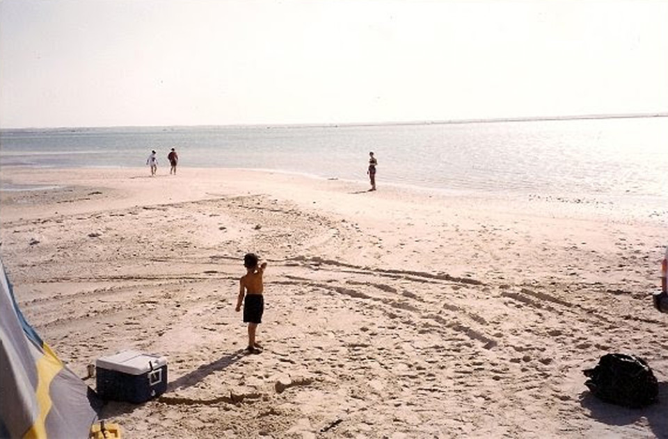 Beach in Hoofuf area, 1999