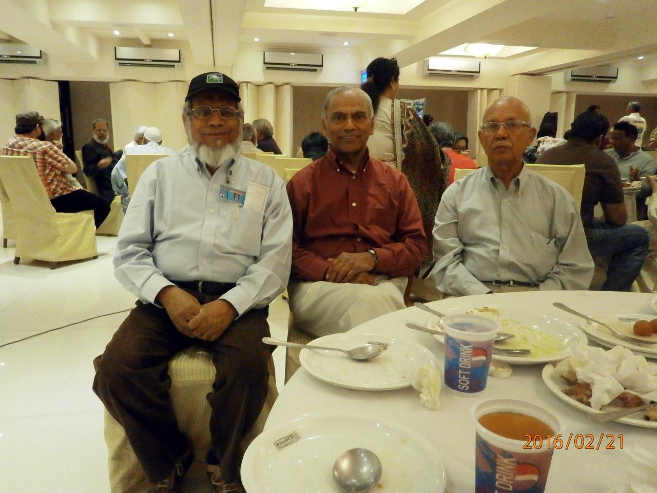 Engr. Iqbal A. Khan, Engr. Mohammad Ahmed, Engr. Syed Waqar Fakhri