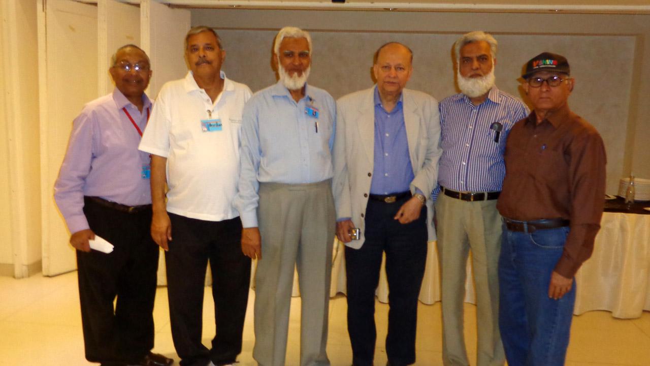 Qamar A. Khan, Arif Qamar, Kamal A. Farooqi, Dr. KY Siddiqui, Jamiluddin Shaikh, Manzoor Shaikh