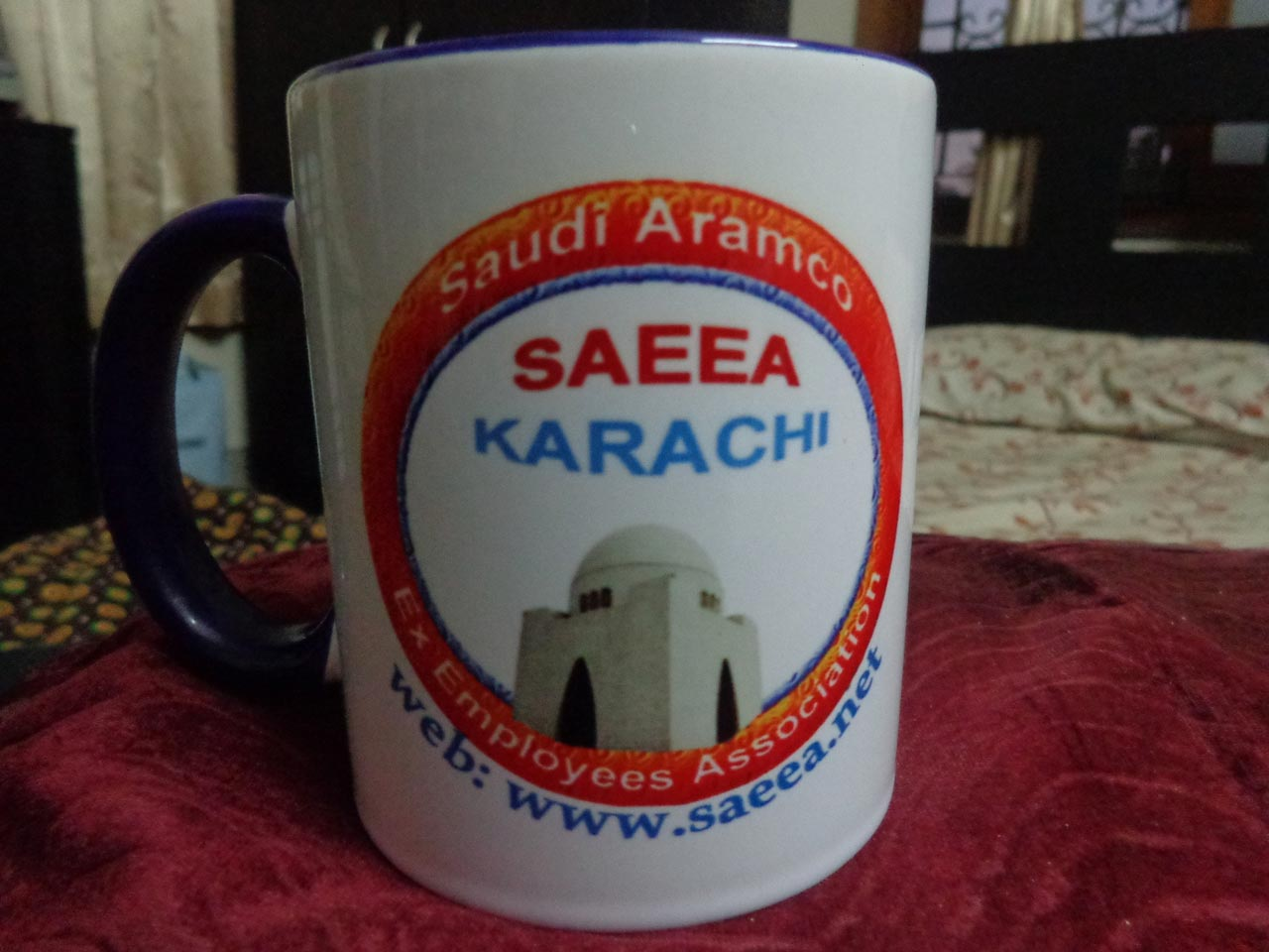SAEEA Mugs gift to all Paid Members