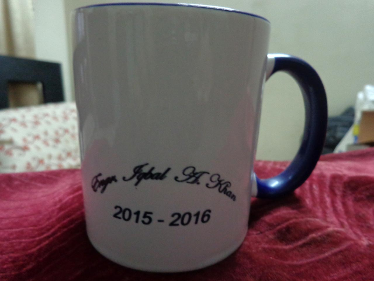 Mug for Engr. Iqbal A. Khan