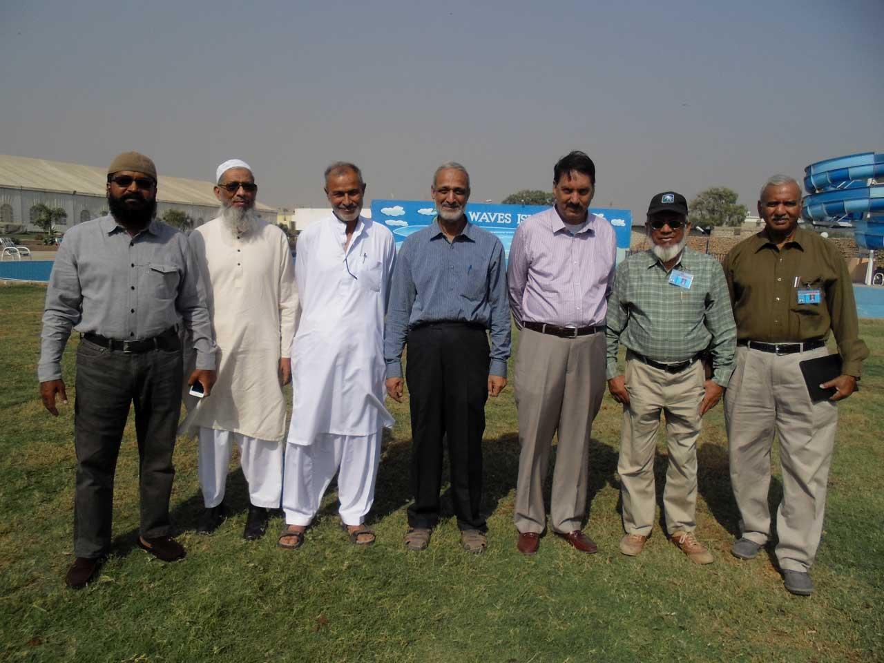 Qaiser Khan, Abu Iftikhar, Ahmed Jan, Qazi Naseer, Maqbool Hussain, Iqbal Khan, Qutubuddin Khan