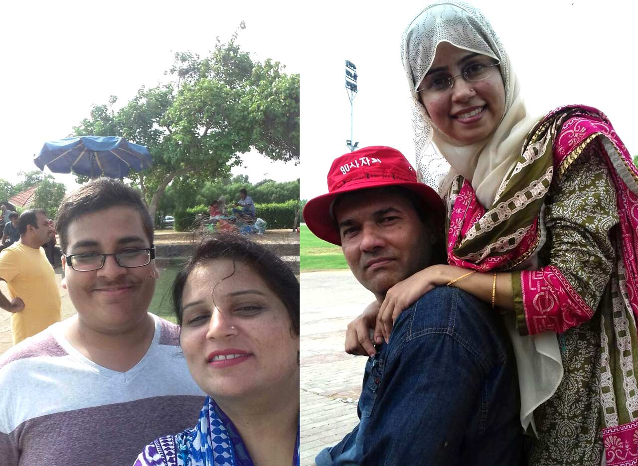 Hammad, Khadija Kashif and Imran –Tania