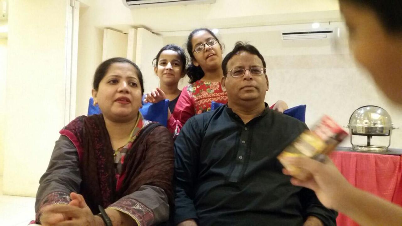 Dr Kiran A. Rehman, Dr Ata Ur Rehman with Khaula Bari and Mariam A. Rehman