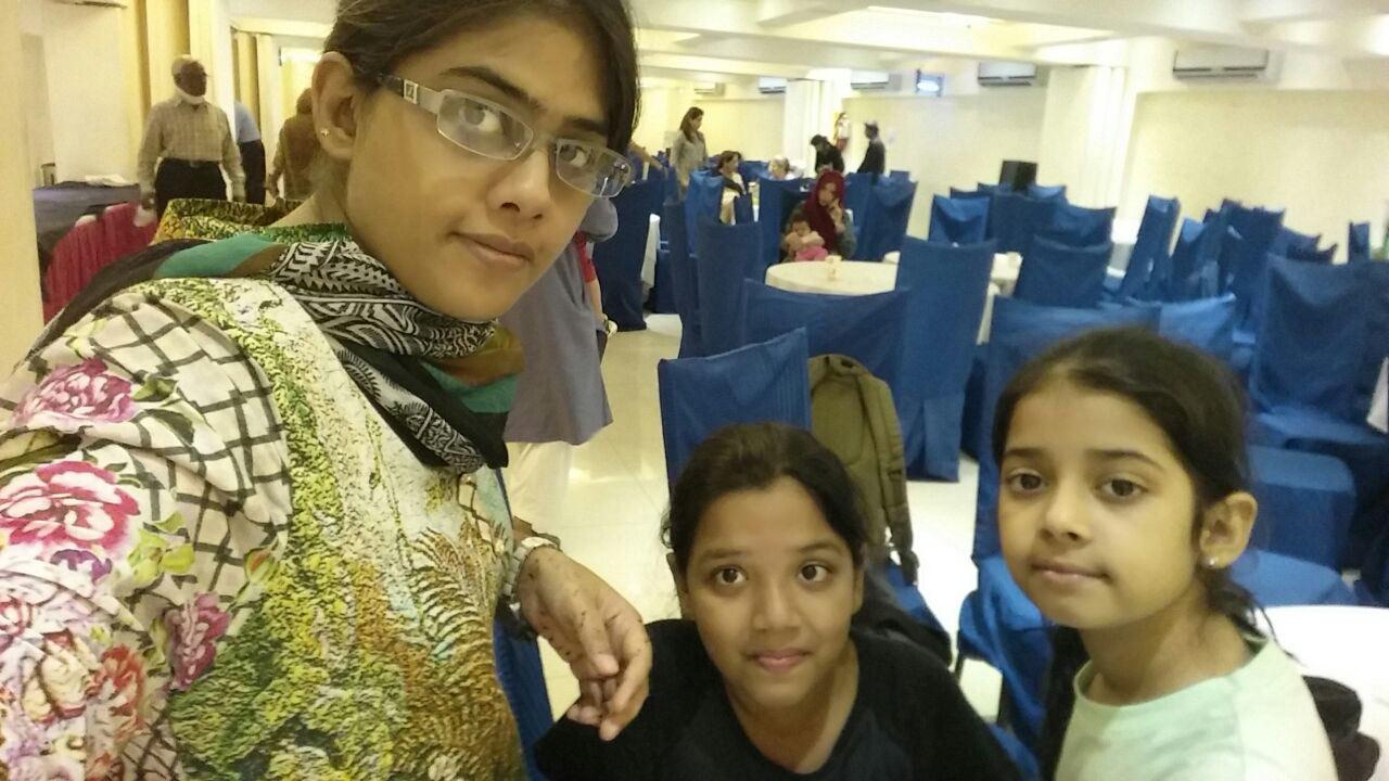 Bushra Irshad, Zoya Imran and Zara Imran