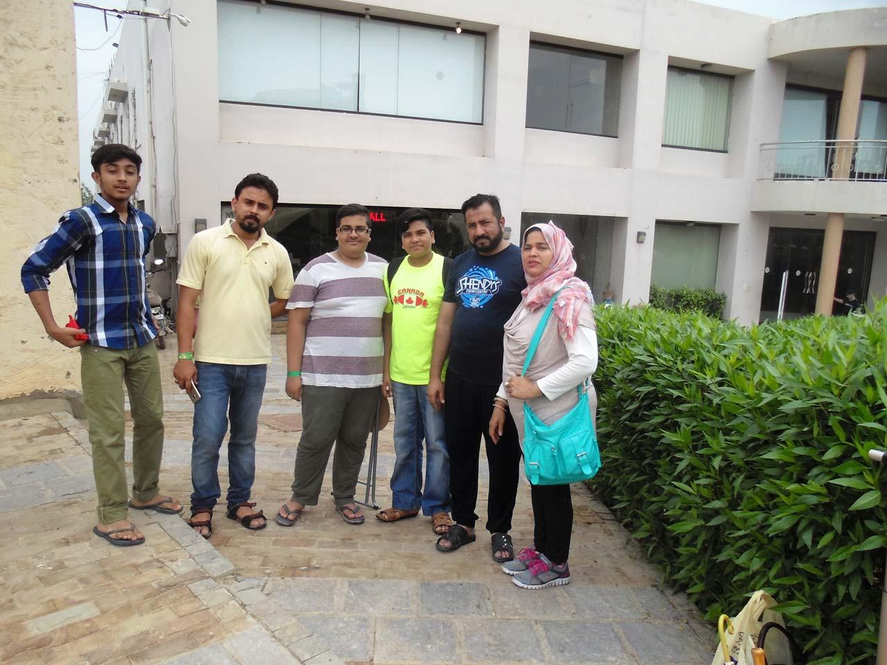 Sameer, Shabeel, Hammad, Kausar, Talal, Syed Arshad Ali, Kausar Ali