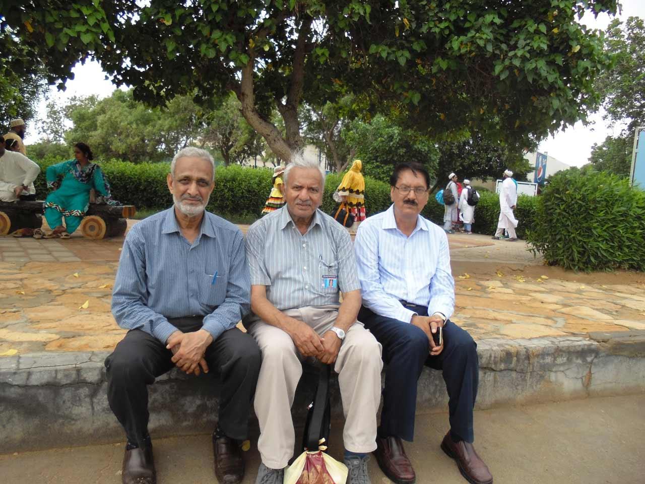 Qazi A. Naseer, Ghulam Qutubuddin Khan, Dr. Syed Maqbool Hussain