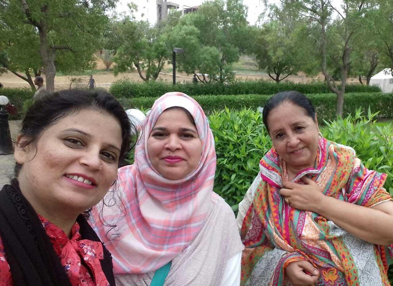 Sajida, Kausar, Shahnaz Shafiq