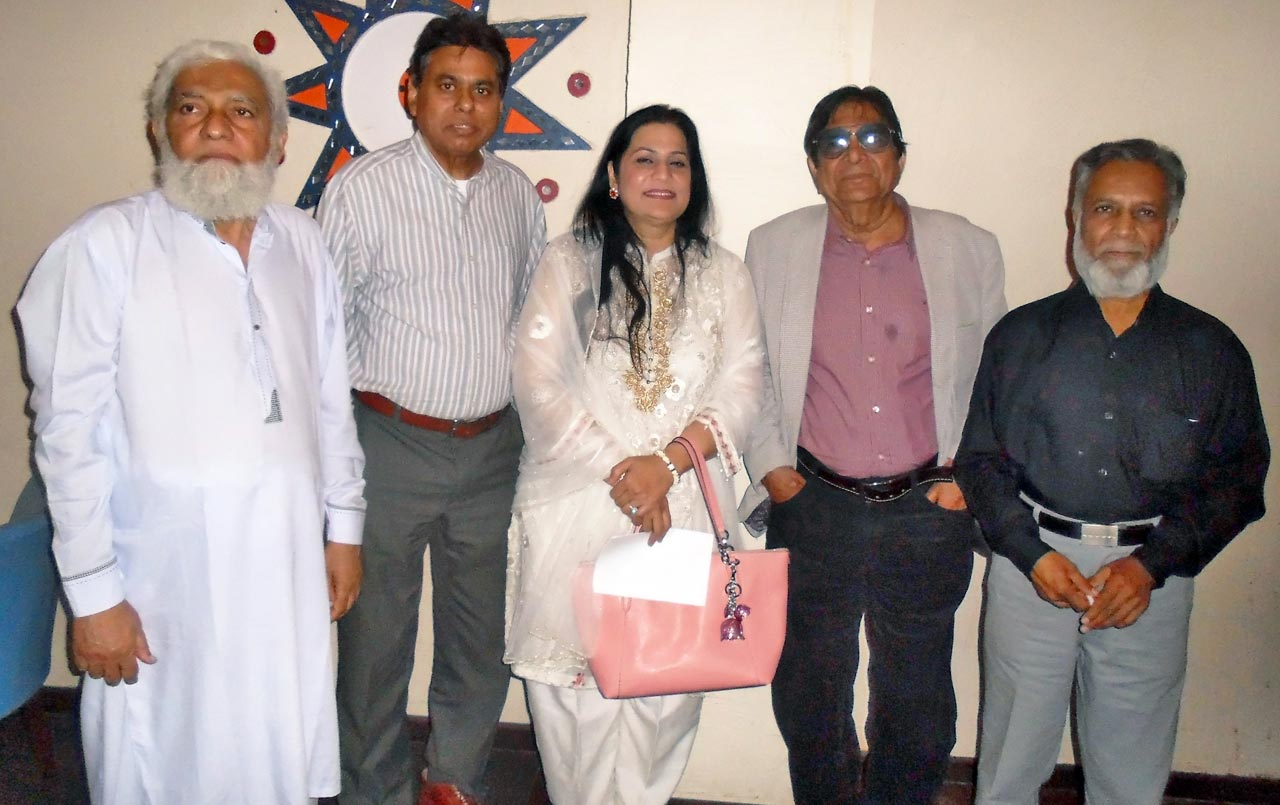 Mohammed Ibrahim, Abdul Jabbar Khan, Mrs. Shabana Jabbar