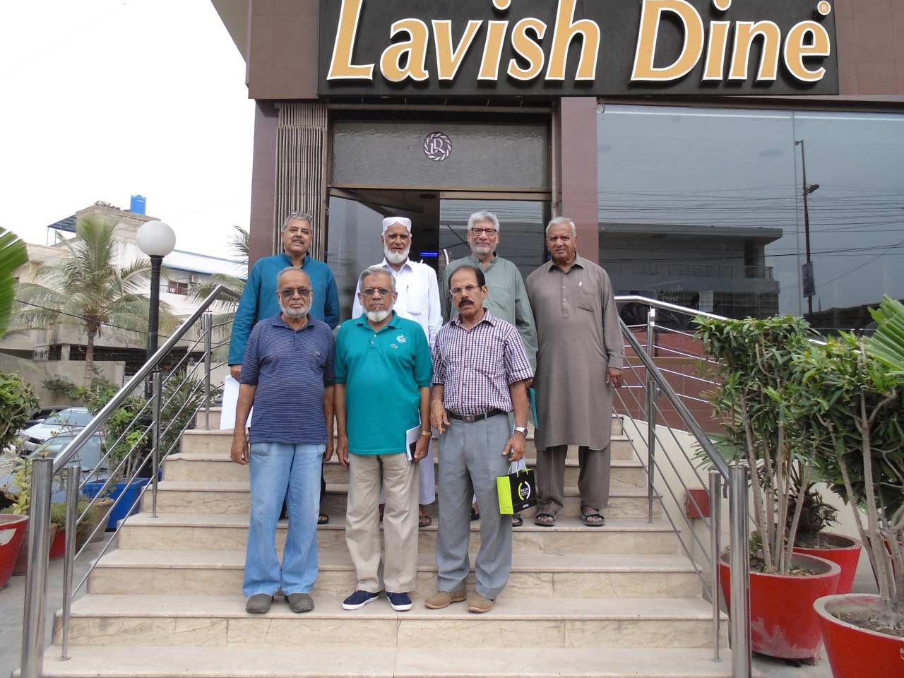 SAEEA Office Bearers at Lavish Dine