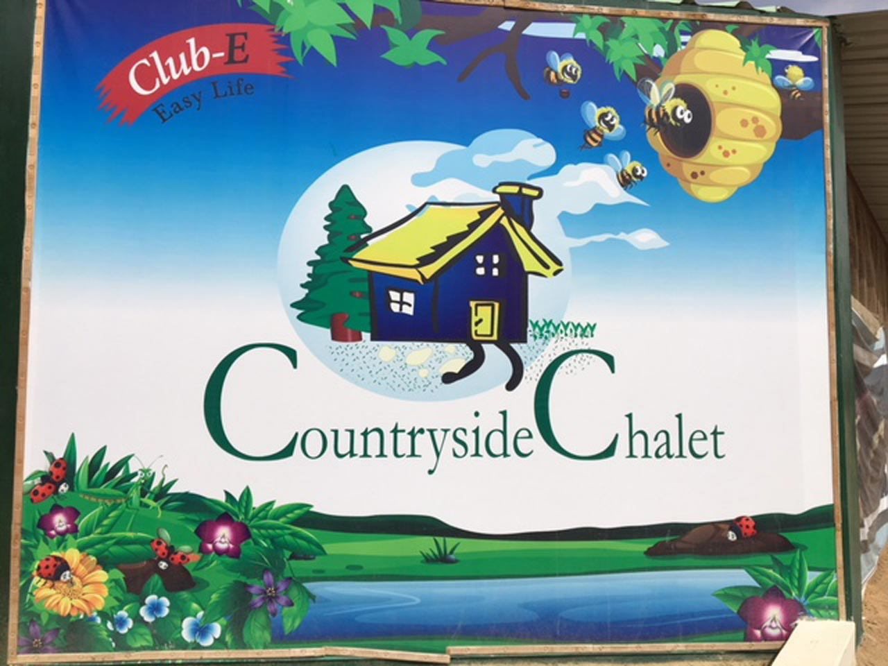 Countryside Chalet Poster at the Farm House