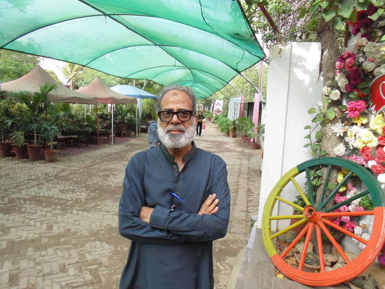 Syed Shahid Ali at the Farm House