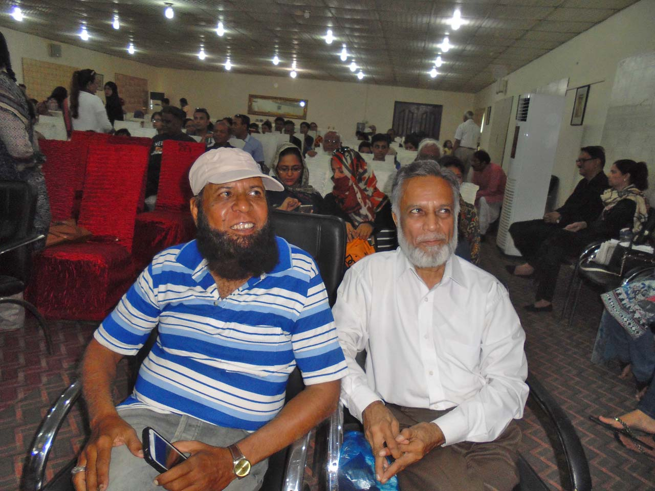 Aziz Ur Rehman Khan and Shahid Qadri