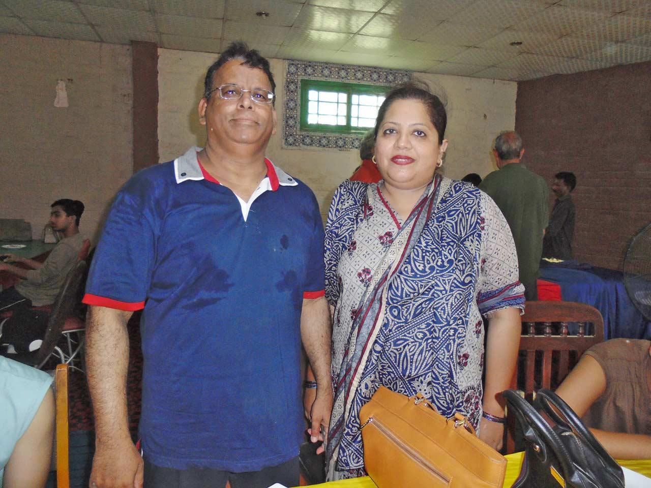 Dr. Ata Ur Rehman and Dr. Kiran A. Rehman