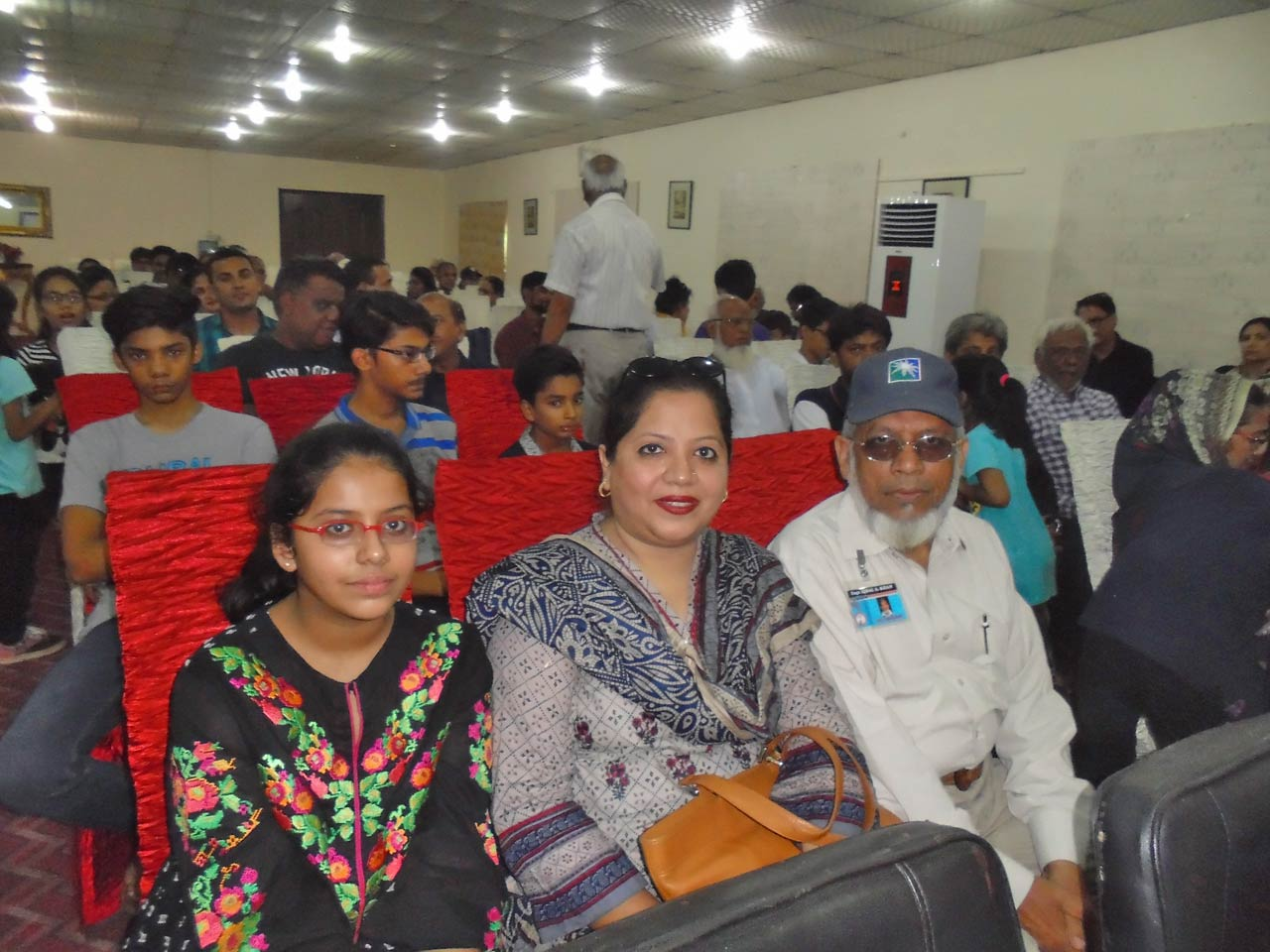 Mariam A. Rehman, Dr. Kiran A. Rehman and Engr. Iqbal Ahmed Khan